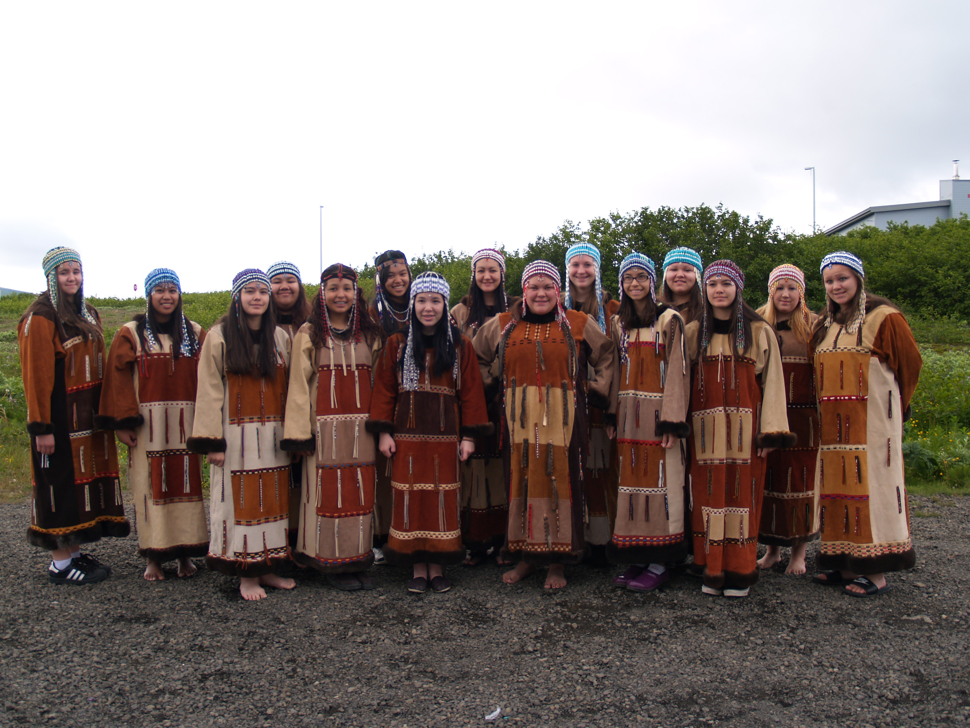 dancers invited to perform at aleut corporation 40th annual meeting